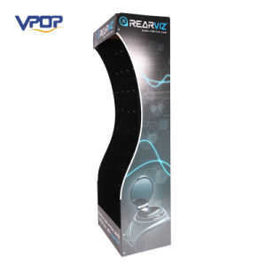 High Quality Peg Hook Corrugated Floor Display Stand pictures & photos