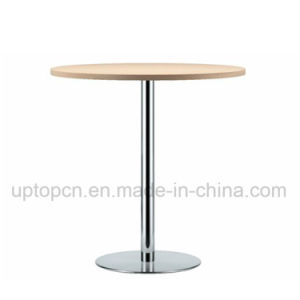 Wholesale Stainless Steel High Bar Round Table with HPL Table Top (SP-BT662) pictures & photos