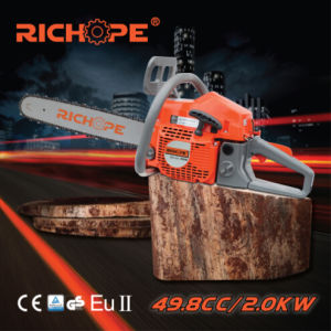 Hot Sale Air Powered Gas Chain Saw Wood Cutting Machine CS5280 pictures & photos
