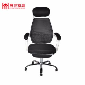 Mesh Office Chair with Foldable Footrest pictures & photos