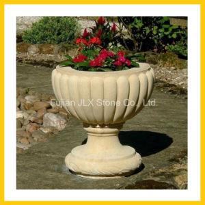 New Products Stone Garden Pot & Vase for Garden Decoration pictures & photos