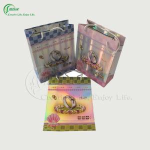 Hot Laser Film Paper Bag (KG-PB020)