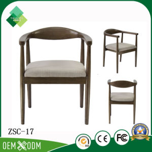 Neo-Chinese Style Antique Wooden Armchair for Hotel Restaurant (ZSC-17) pictures & photos