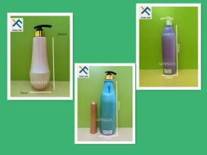 Eco-Friendly 500ml 800ml Plastic Skin Cleaning Lotion Bottle pictures & photos