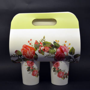 Disposable 16oz Paper Cup for Hot Coffee with Lid pictures & photos