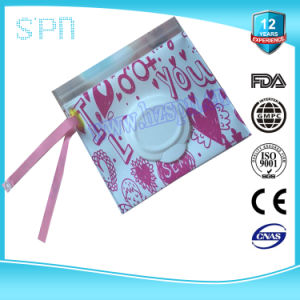 Mini Napkin Protect Pouch Wet Wipe Bag pictures & photos