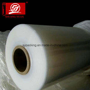 Shuangyuan Thickness 20-23 Mic LLDPE Machine Stretch Film Pallet Packing Film pictures & photos