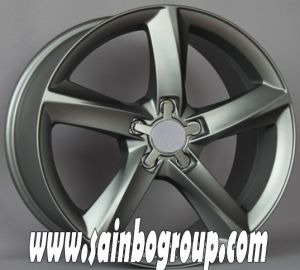 Hot Sale Vacuum Chrome Replica Alloy Wheels for VW pictures & photos