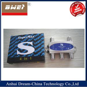 Supermax Satellite Diseqc Switch 4X1 pictures & photos