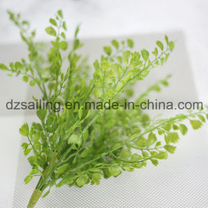 Plastic Leaves Aritificial Flower for Wedding/Home/Garden Decoration (SF15659A/1) pictures & photos