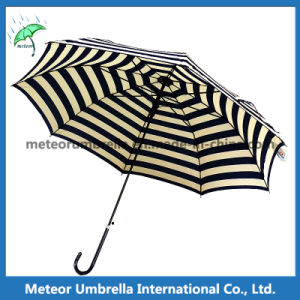 Manufacturer Outside Market Black Straight Umbrellas