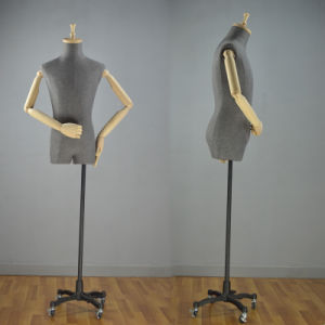 High Grade Male Torso Mannequin with Wooden Arms pictures & photos