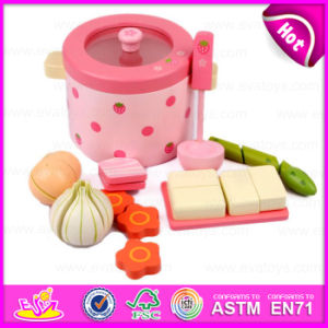 2015 Educational Toys Kitchen Cooking Play Set, Role Play Cooking Food Toy, Wooden Kitchen Toys Strawberry Cooking Set Toy W10d106 pictures & photos