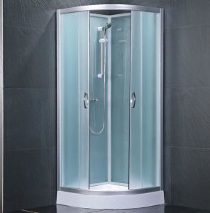 Economic Simple Glass Shower Cabin (KF-806A) pictures & photos