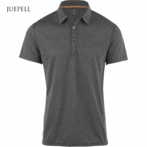 Grey Charcoal Gym Men Polo Shirt pictures & photos