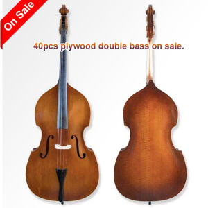40PCS Plywood Double Bass on Sale (GB002) pictures & photos