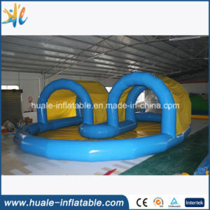 Custom Design Inflatable Pool with Roof Cover, Tent, Inflatable Swimming Pools pictures & photos