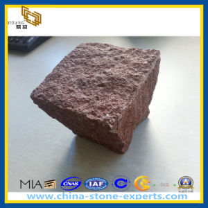 Natural Red Granite Paving Cube Stone (YQZ-PS) pictures & photos
