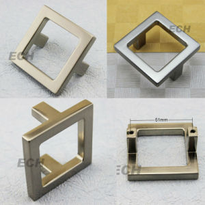 New Style Zinc Alloy Square Sn Furniture Handle (FHE173) pictures & photos