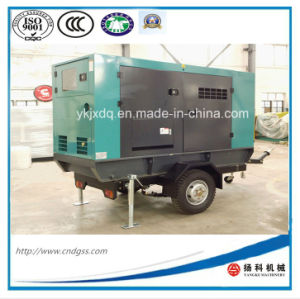 200kw/ 250kVA Trailer Silent Diesel Generator with ATS pictures & photos