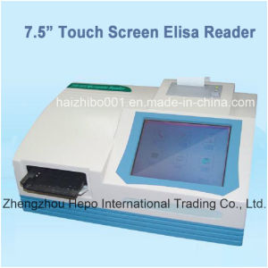 "8 Channels 7.5"" Touch Screen Elisa Microplate Reader (HP-Elisa9606) pictures & photos"