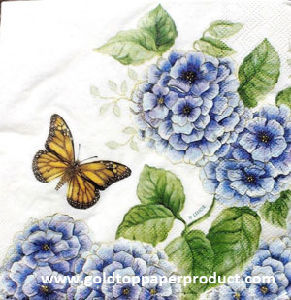 21*21cm Paper Table Napkins S1723 pictures & photos