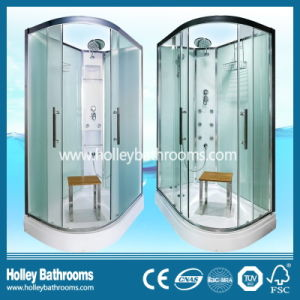 L Shape High Ending Combination Shower Box with Mirror and Seat (SR211C)