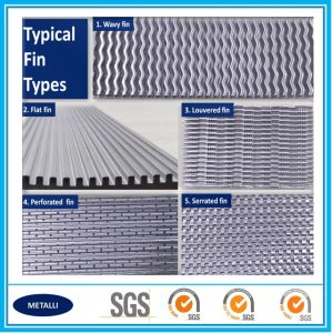 Excellent Quality Heat Transfer Aluminum Cooling Fin pictures & photos