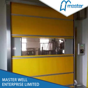 Warehouse Roll up High Speed Door/Rapid Roller Shutter Door pictures & photos