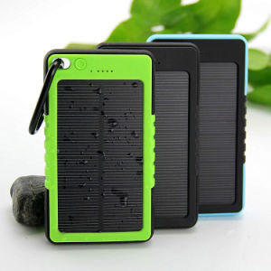 Waterproof Solar Charger 12000mAh Power Bank Backup Battery pictures & photos
