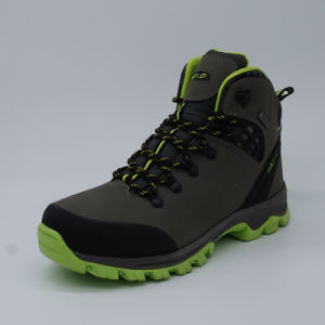 High Quality Genuine Leather Men Hiking Shoes Outdoor Sports Shoes