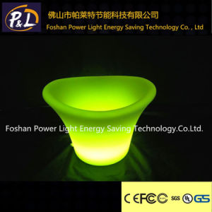 Waterproof Outdoor Glowing Flowerpot LED Garden Pot pictures & photos