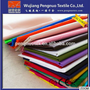 Wholesale Nylon Taffeta Fabric Waterproof /PU /PVC Coated for Apparel and The Horse Clothing Lining Fabric
