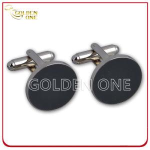 Fancy Design Superior Sliver Color Metal Cuff Link pictures & photos