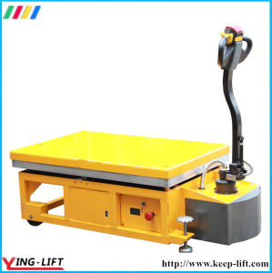 Mobile Electric Hydraulic Scissor Lift Table Ylf120 pictures & photos