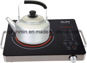 Kitchen Appliance Stainless Steel Body Sensor Touch Control EGO Ceramic Furnace Hot Pot 2000W Infrared Ceramic Cooker pictures & photos