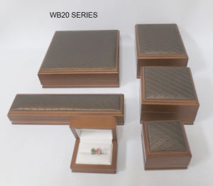 Custom Wood Leather Jewelry Display Gift Package Case pictures & photos
