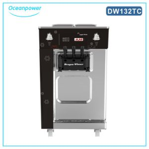 Double System Multiple Flavors Soft Ice Cream Machine Capacity 32L/H pictures & photos