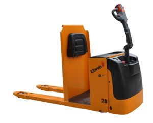 Electric Pallet Truck with Order Picker Function pictures & photos