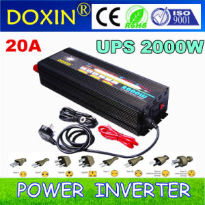 2000W Output Power DC/AC Inverter Type Inverter with Battery Backup pictures & photos