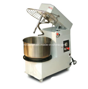 Rising Head and Fixing Bowl Double Speed Spiral Mixer (HTD20) pictures & photos