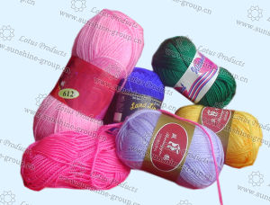 Wool Acrylic Knitting Yarn 7s/3 8s/4 pictures & photos