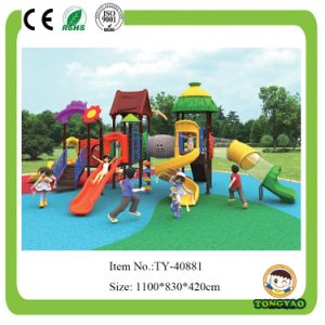 Modern Outdoor Playground Plastic Slide for Children (TY-40881) pictures & photos