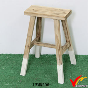 Vintage Handmade Decorative Solid Wood Stool pictures & photos