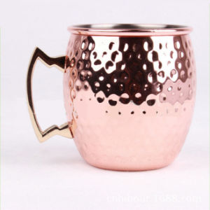 Copper Plated Stainless Steel Moscow Mule Mug for Cocktail, Vodka pictures & photos