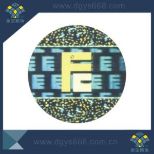 Customized Design 3D Dynamic Laser Hologram Security Sticker pictures & photos