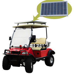 Solar Panel Electric Hunting / Golf Buggy with Basket pictures & photos