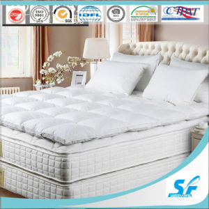 European Winter Cheap Goose Feathers Mattress Topper pictures & photos
