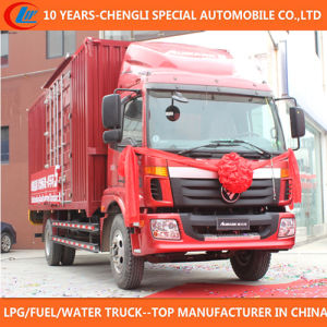 China Supplier 6 Wheels Van Truck for Sale pictures & photos