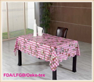 Vinyl Table Oilcloth / Table Linen in New Designs Hot Sales pictures & photos